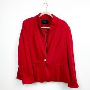 Kenneth Cole Professional Red Blazer Jacket